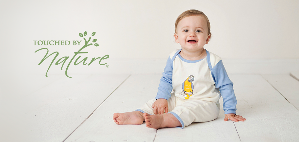 Bodysuit and Pant Track Jacket Touched by Nature Baby Boys Unisex Organic Cotton Hoodie