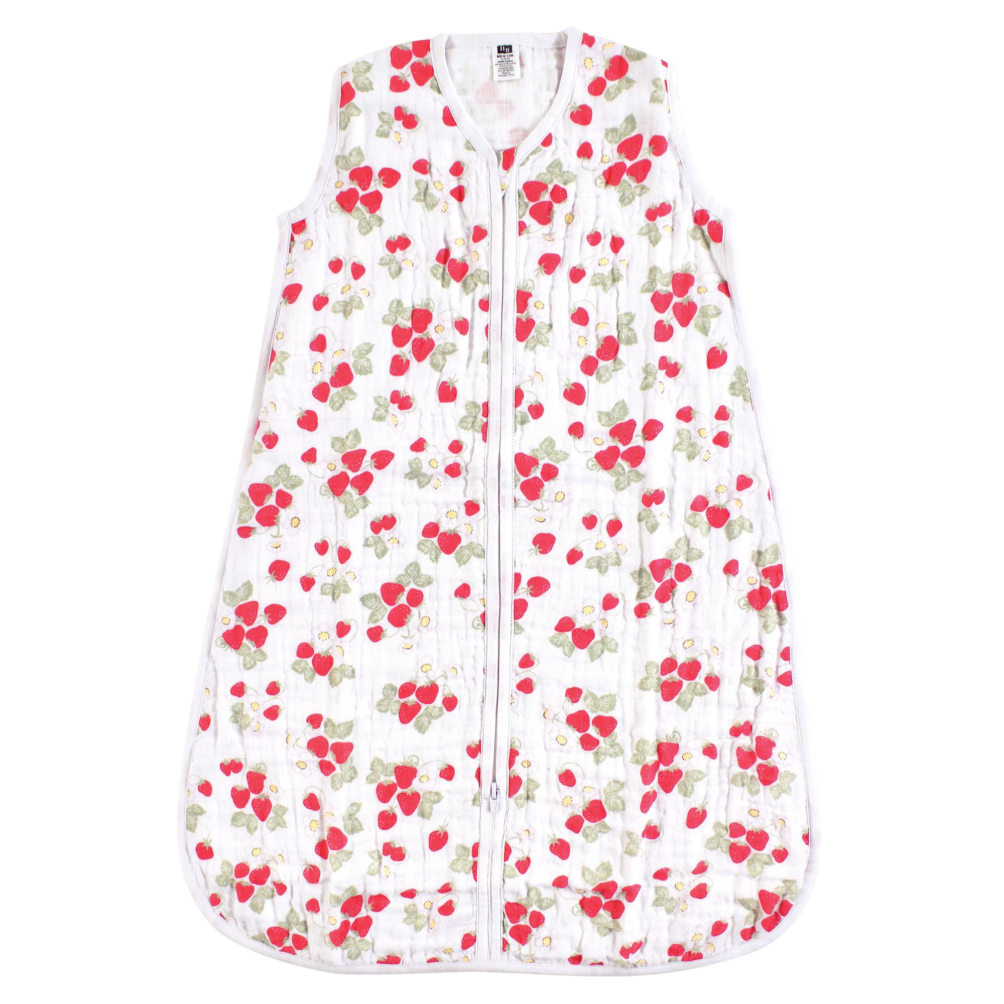 finest selection 6ee15 62491 Hudson Baby - Safe Sleep Wearable Muslin Sleeping Bag ...