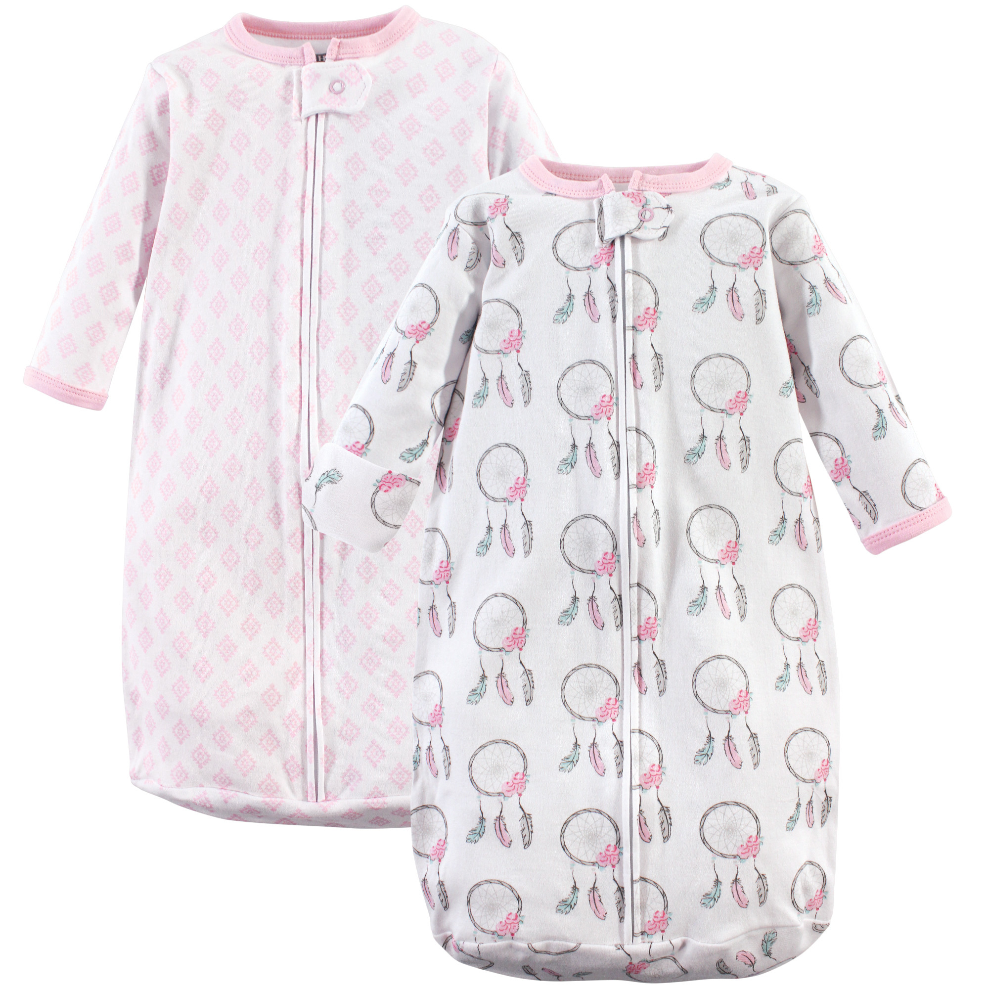 8fdd15739a8a Hudson Baby Safe Sleep Wearable Long Sleeve Sleeping Bag