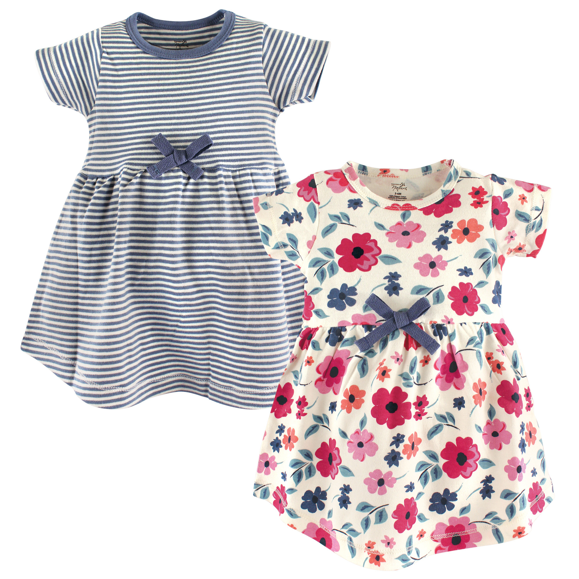 Touched By Nature Baby Organic Cotton Dress 2 Pack Affordable