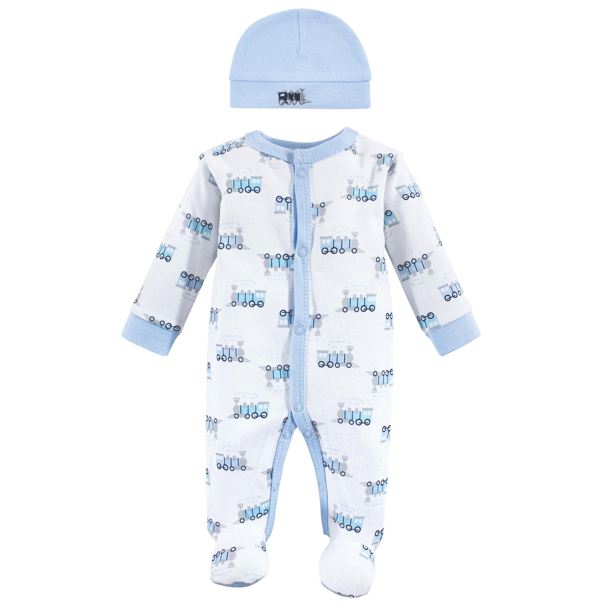 Luvable Friends Baby Preemie Sleep N Play /& Cap