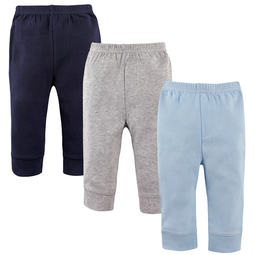 3 Pack Tapered Ankle Toddler Pants