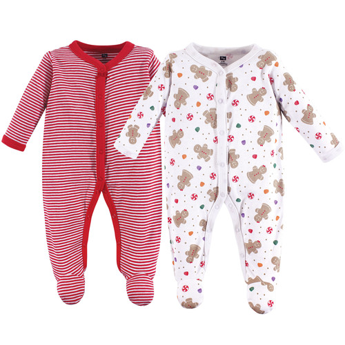Hudson Baby Sleep And Play 2 Pack Holly 6 9 Months Affordable
