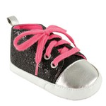 Black with Pink Laces