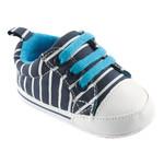 Blue with White Stripe