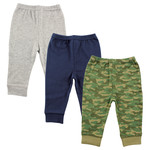 Navy and Green Camo
