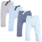 Light Blue and Gray 4Pk