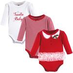 Santa Baby 3Pk Long Sleeve