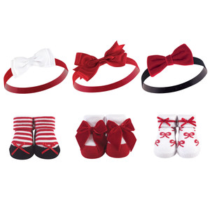 Red Bows 6-Piece