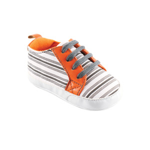 Orange and Gray Stripe