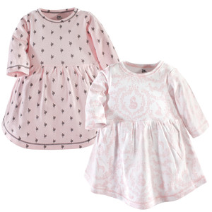 8427ab8fb6cb Yoga Sprout - Baby and Toddler Girl Cotton Dress