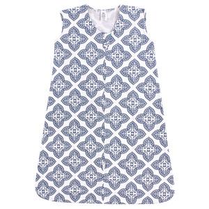 Soft Jersey Safe Sleep Wearable Sleeping Bag, Ornate Clover, 18-24 Months